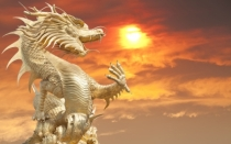 """Golden Chinese Dragon"" courtesy of anekoho / FreeDigitalPhotos.net"