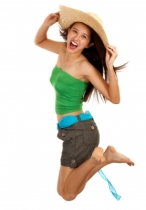 """Happy Girl Jumping"" courtesy of Stuart Miles / FreeDigitalPhotos.net"