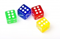 """Colorful Dices"" courtesy of posterize/ FreeDigitalPhotos.net"
