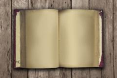 """Old Book Open"" courtesy of scottchan/ FreeDigitalPhotos.net"