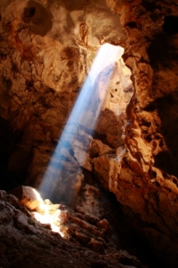 """Nice Sun Ray In Cave"" courtesy of wiangya / FreeDigitalPhotos.net"