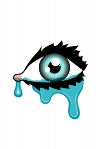 """Crying Eye"" courtesy of kjnnt / FreeDigitalPhotos.net"